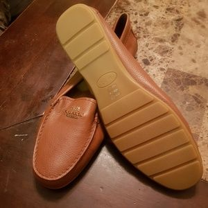 Coach Brown Leather shoes, NWOT  SIZE 10B